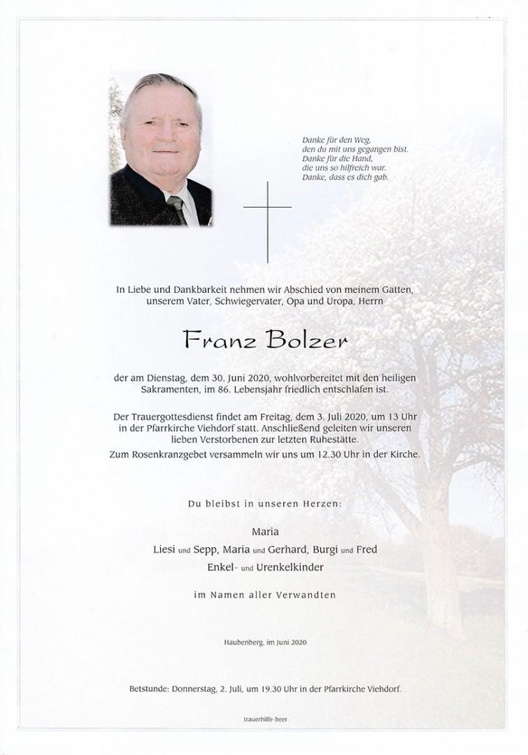 Parte Franz Bolzer