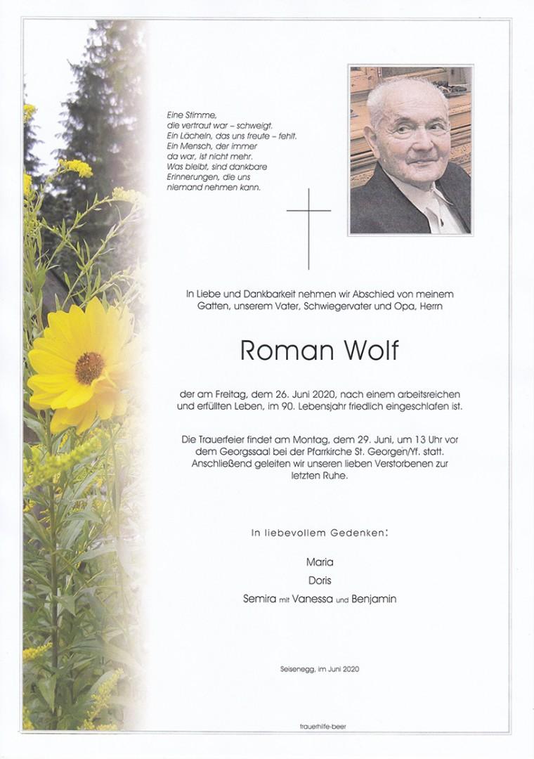 Parte Roman Wolf
