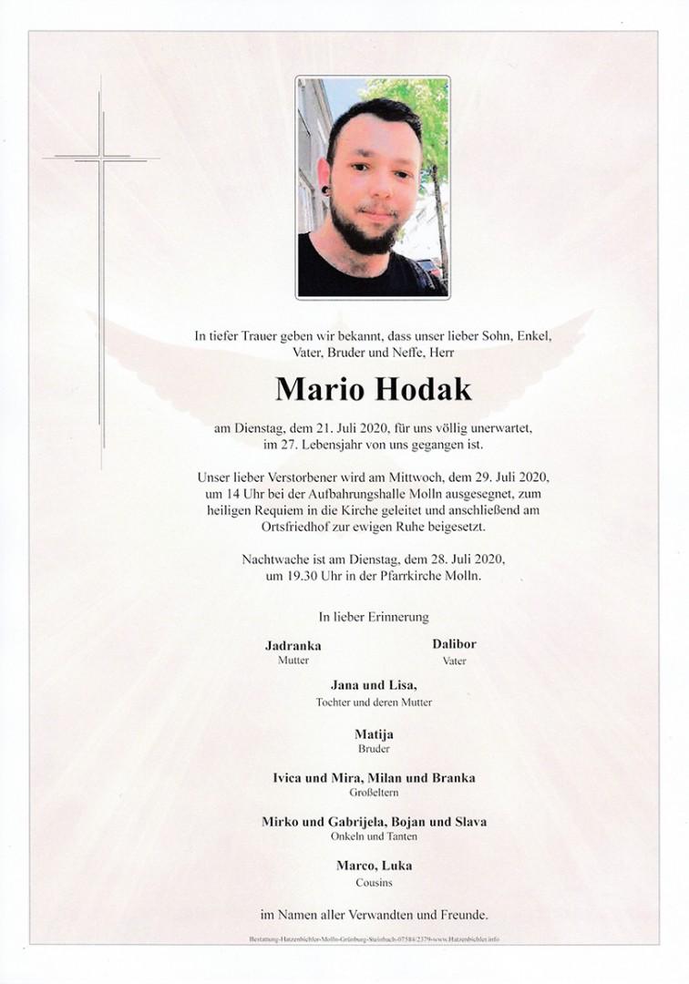 Parte Mario Hodak