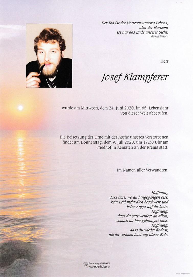Parte Josef Klampferer