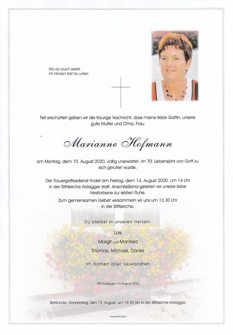 Parte Marianne Hofmann