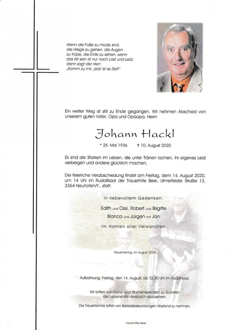 Parte Johann Hackl