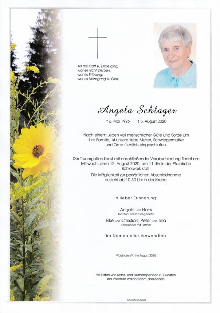 Parte Angela Schlager