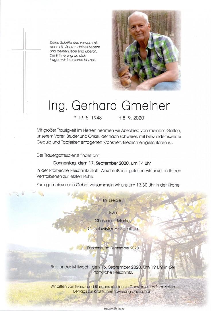 Parte Ing. Gerhard Gmeiner
