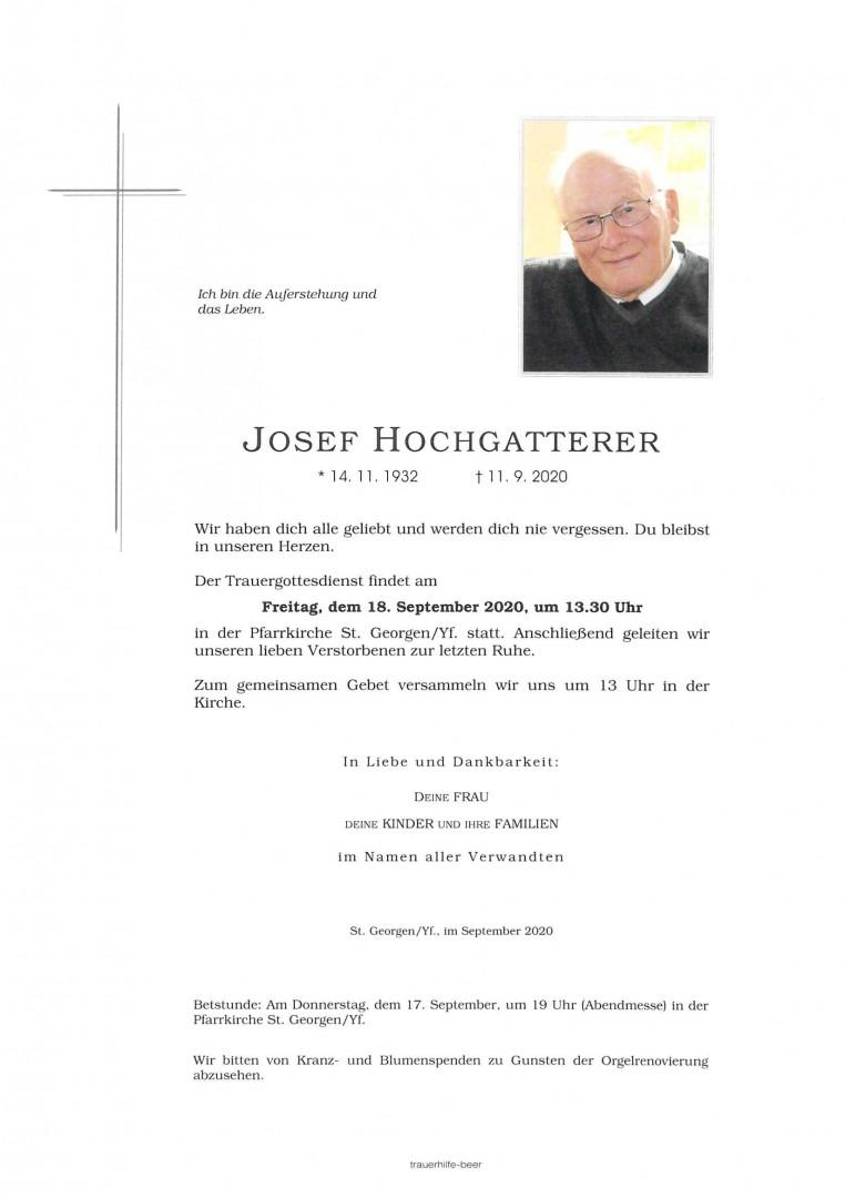Parte Josef Hochgatterer