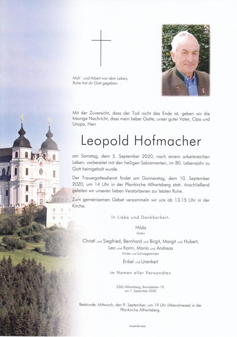 Parte Leopold Hofmacher