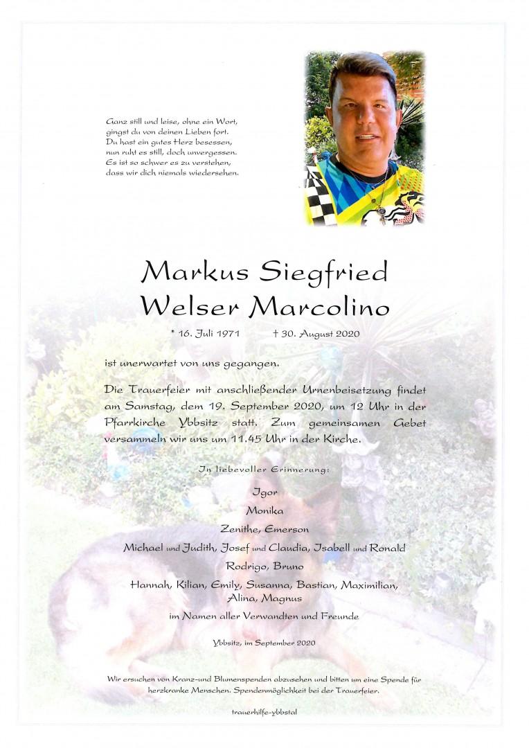 Parte Markus Siegfried Welser Marcolino