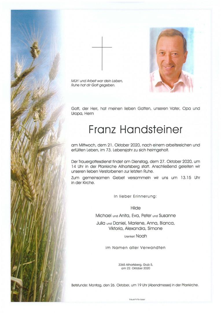 Parte Franz Handsteiner