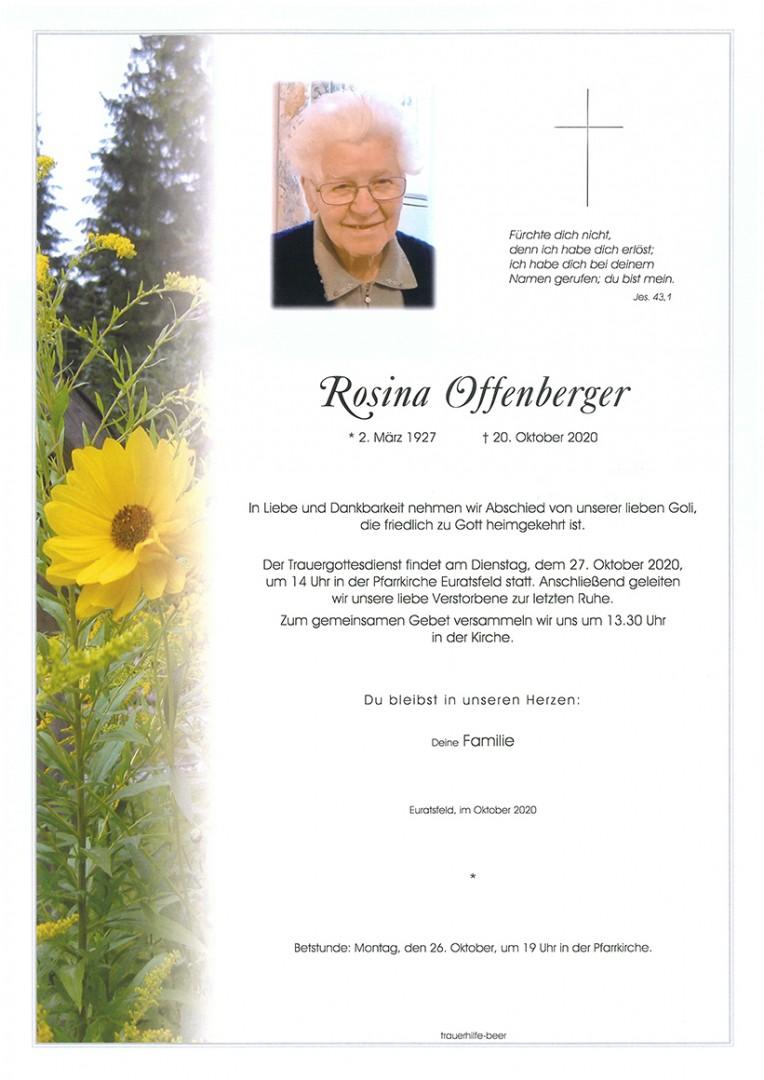 Parte Rosina Offenberger