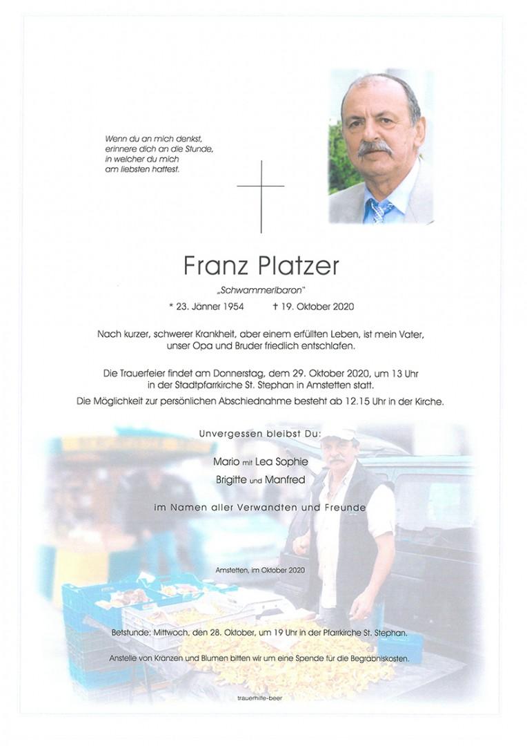 Parte Franz Platzer