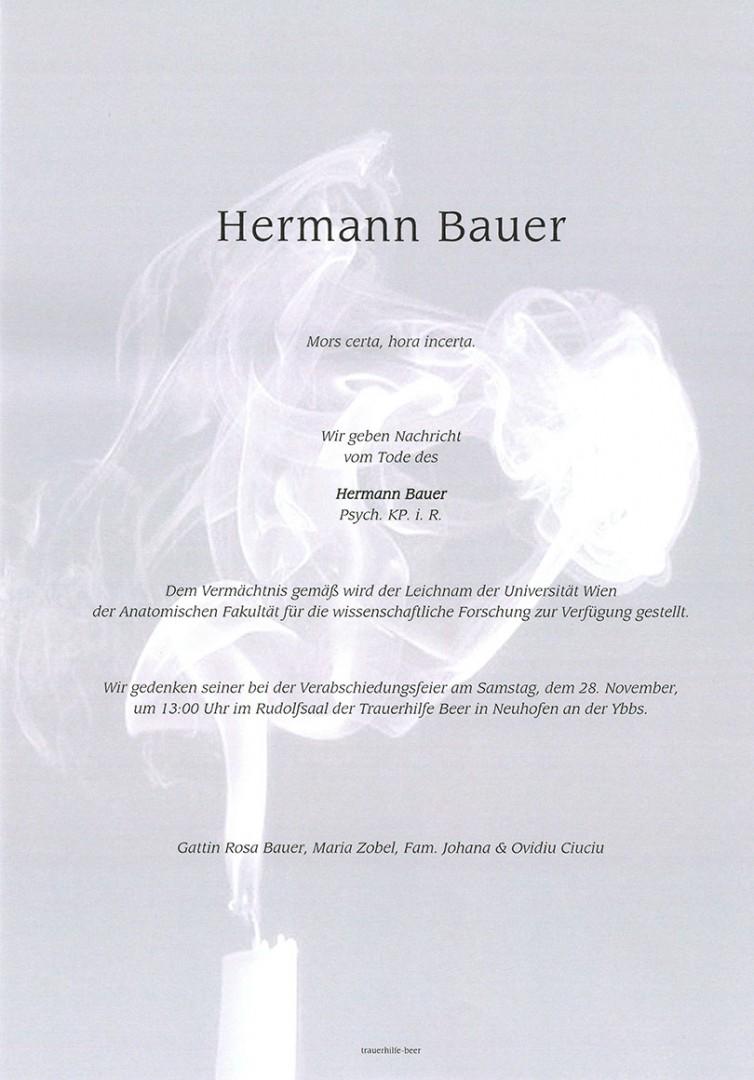 Parte Hermann Bauer
