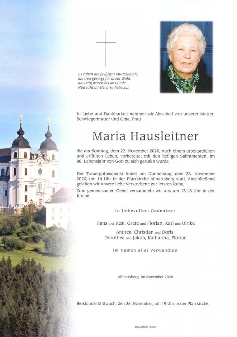 Parte Maria Hausleitner
