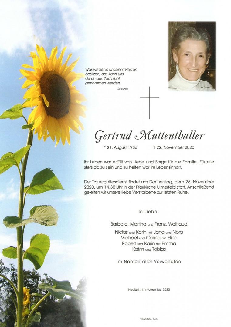 Parte Gertrud Muttenthaller