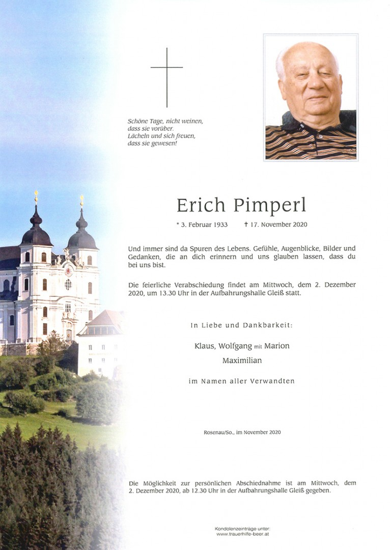 Parte Erich Pimperl