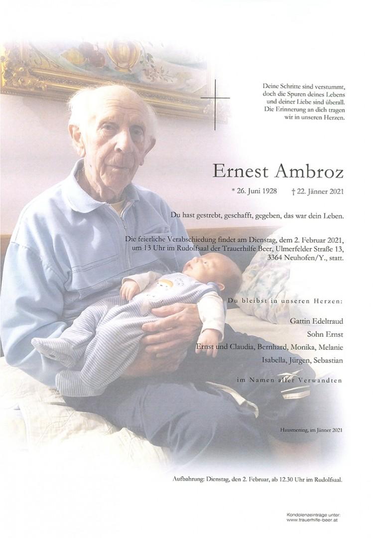 Parte Ernest Ambroz
