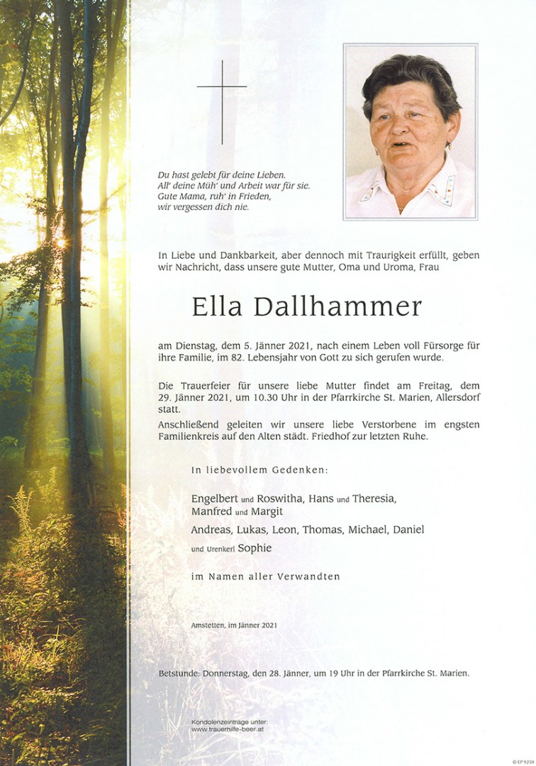 Parte Ella Dallhammer