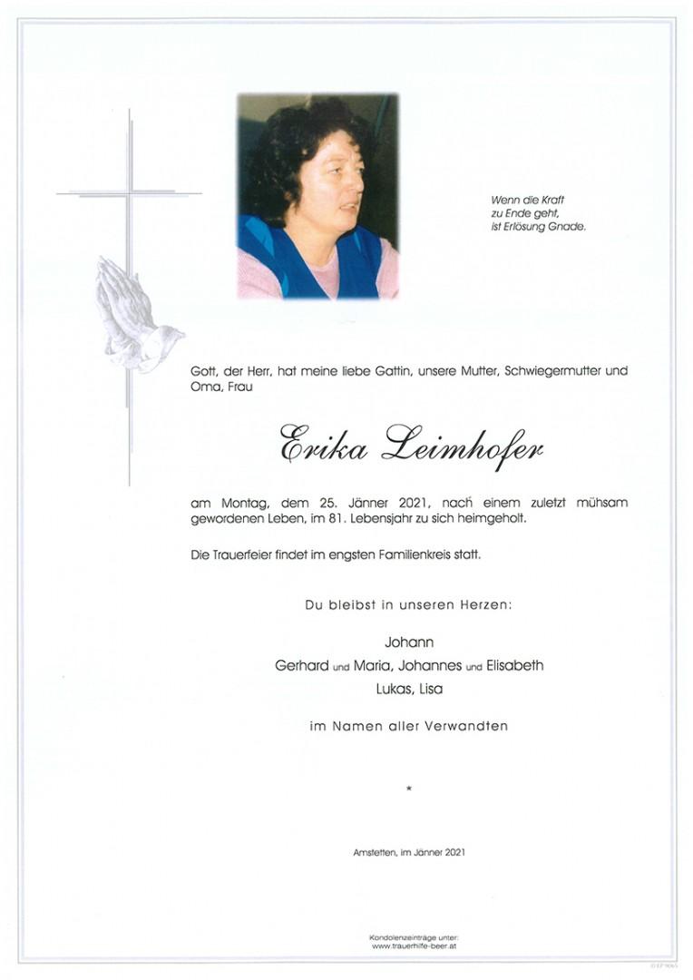 Parte Erika Leimhofer