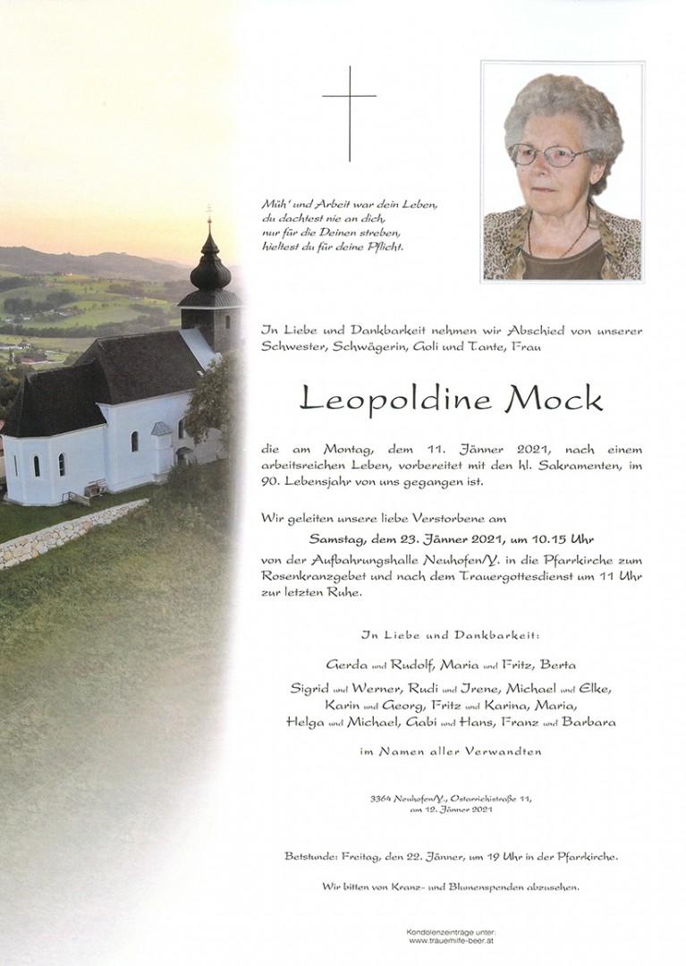 Parte Leopoldine Mock