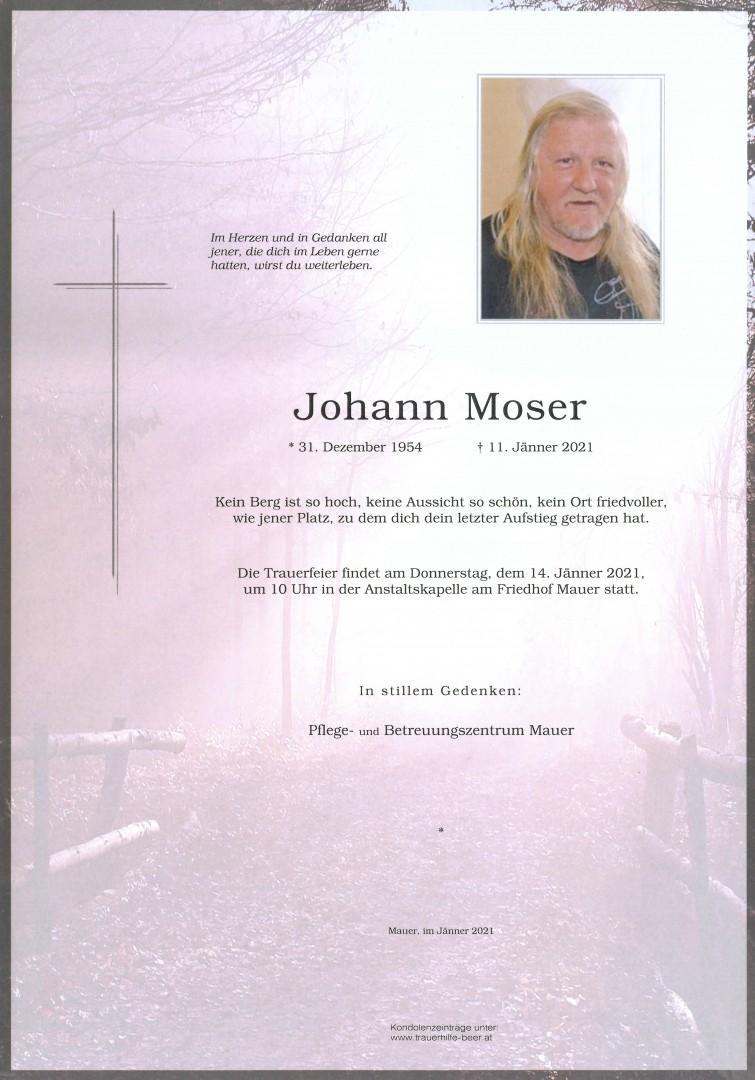 Parte Johann Moser