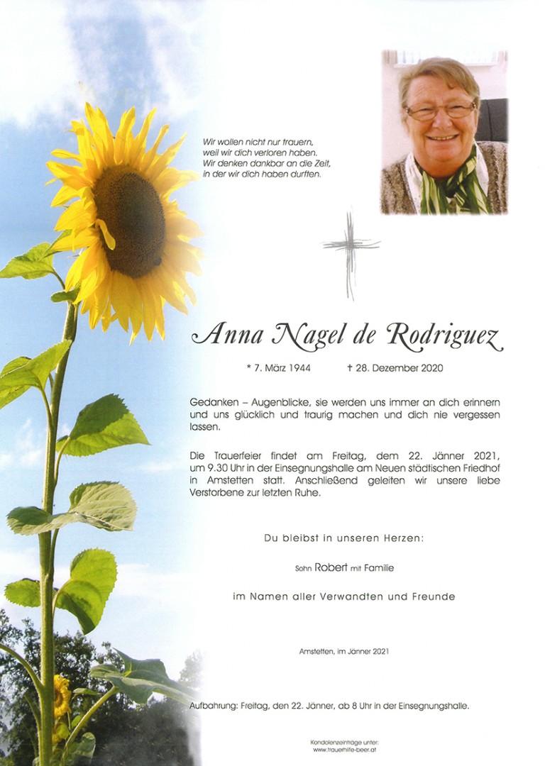 Parte Anna Nagel de Rodriguez