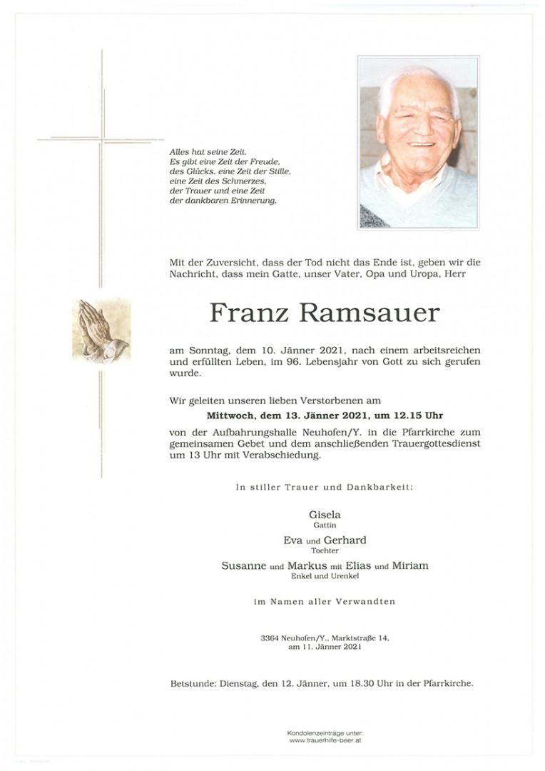 Parte Franz Ramsauer