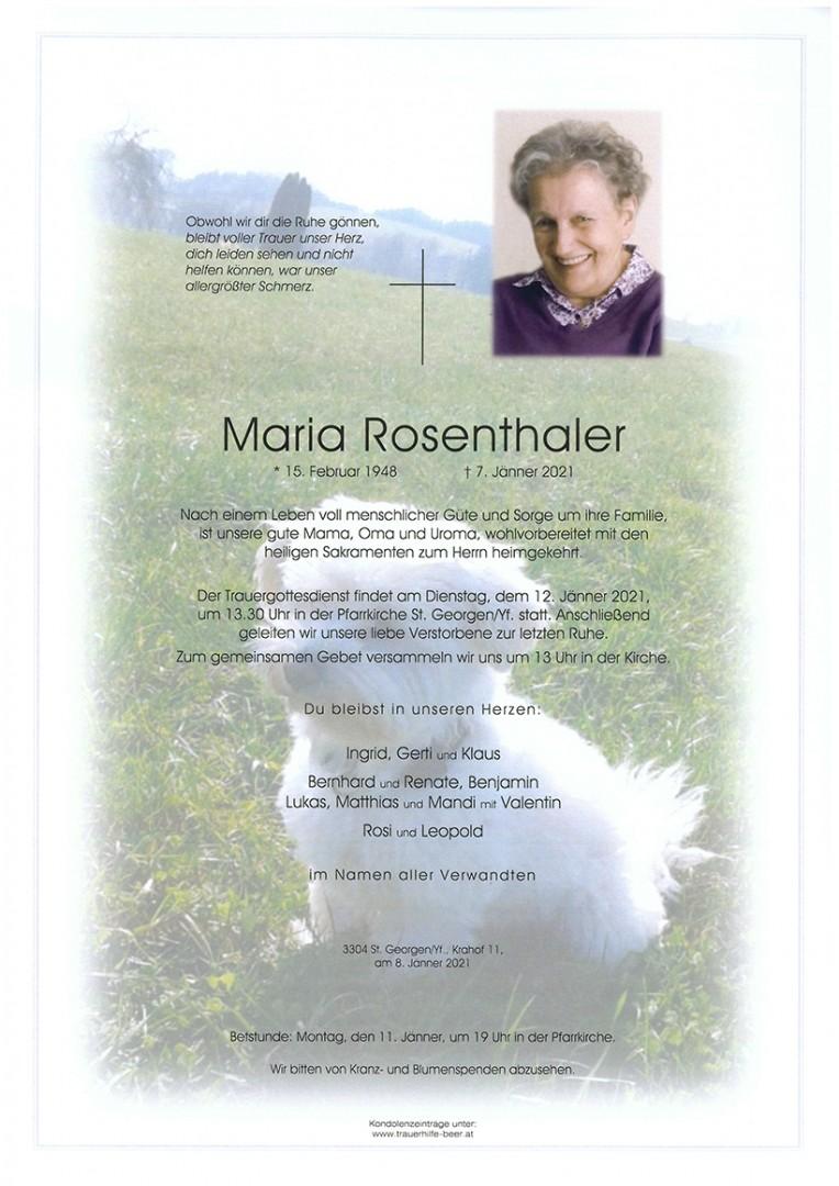 Parte Maria Rosenthaler