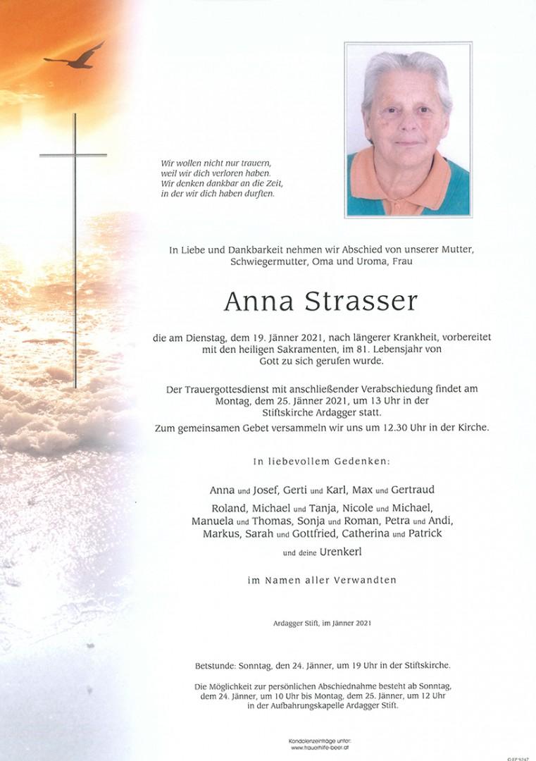 Parte Anna Strasser
