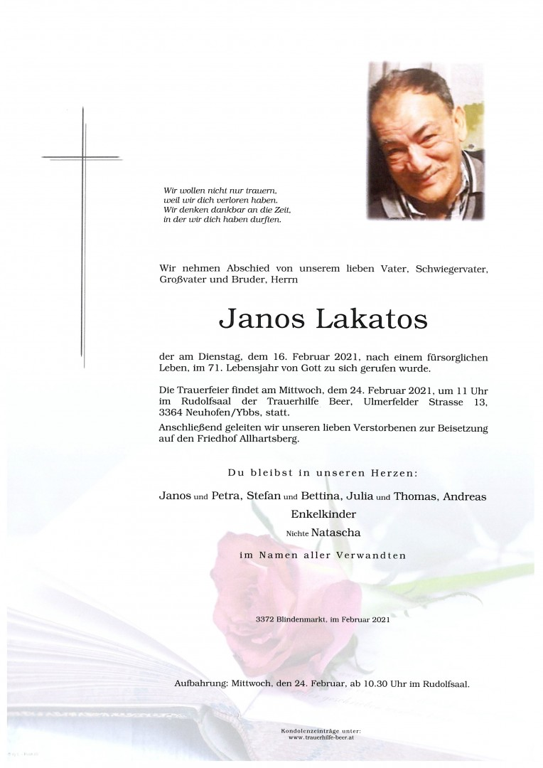 Parte Janos Lakatos