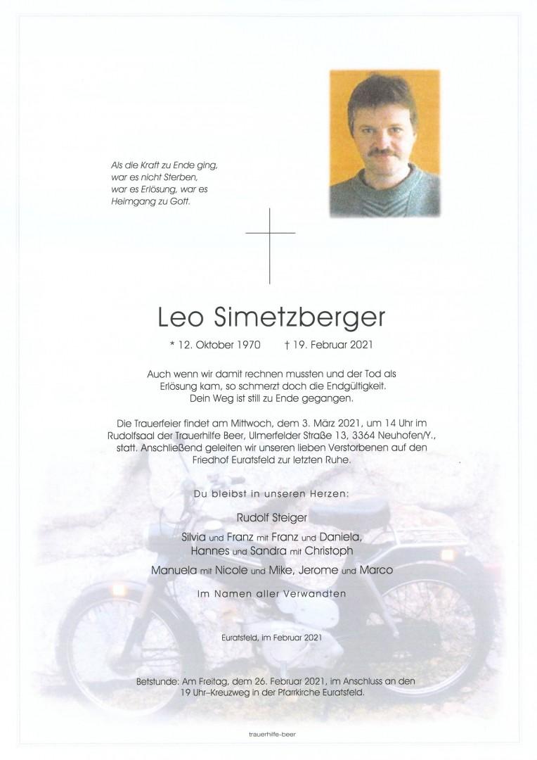 Parte Leo Simetzberger