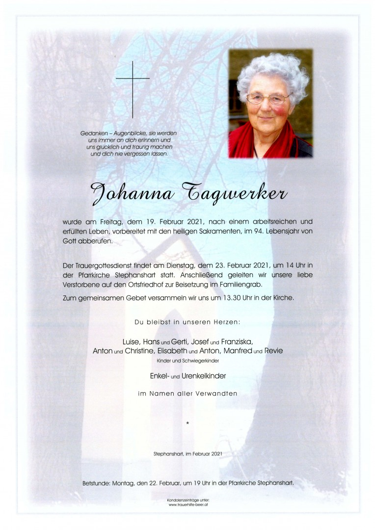 Parte Johanna Tagwerker