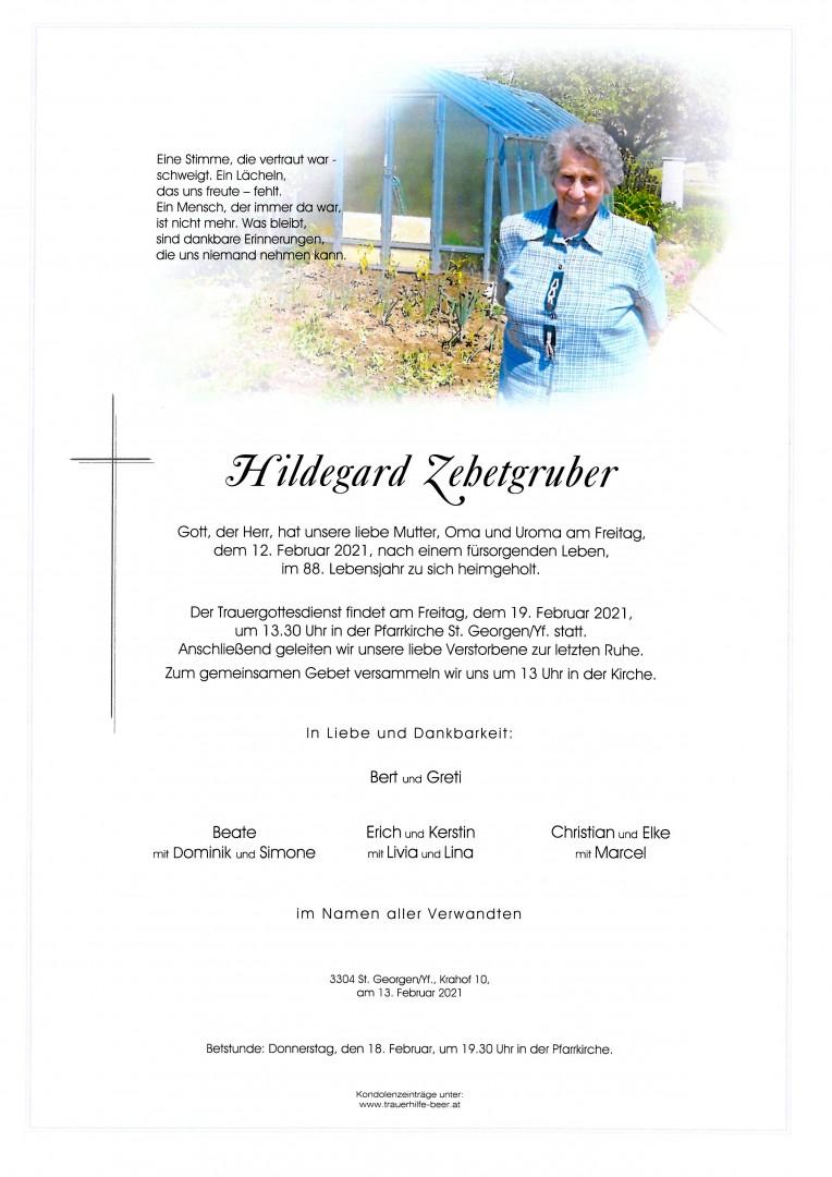 Parte Hildegard Zehetgruber