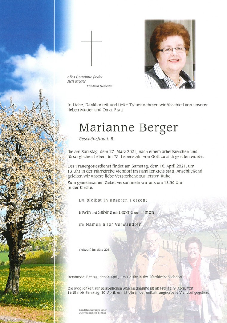 Parte Marianne Berger