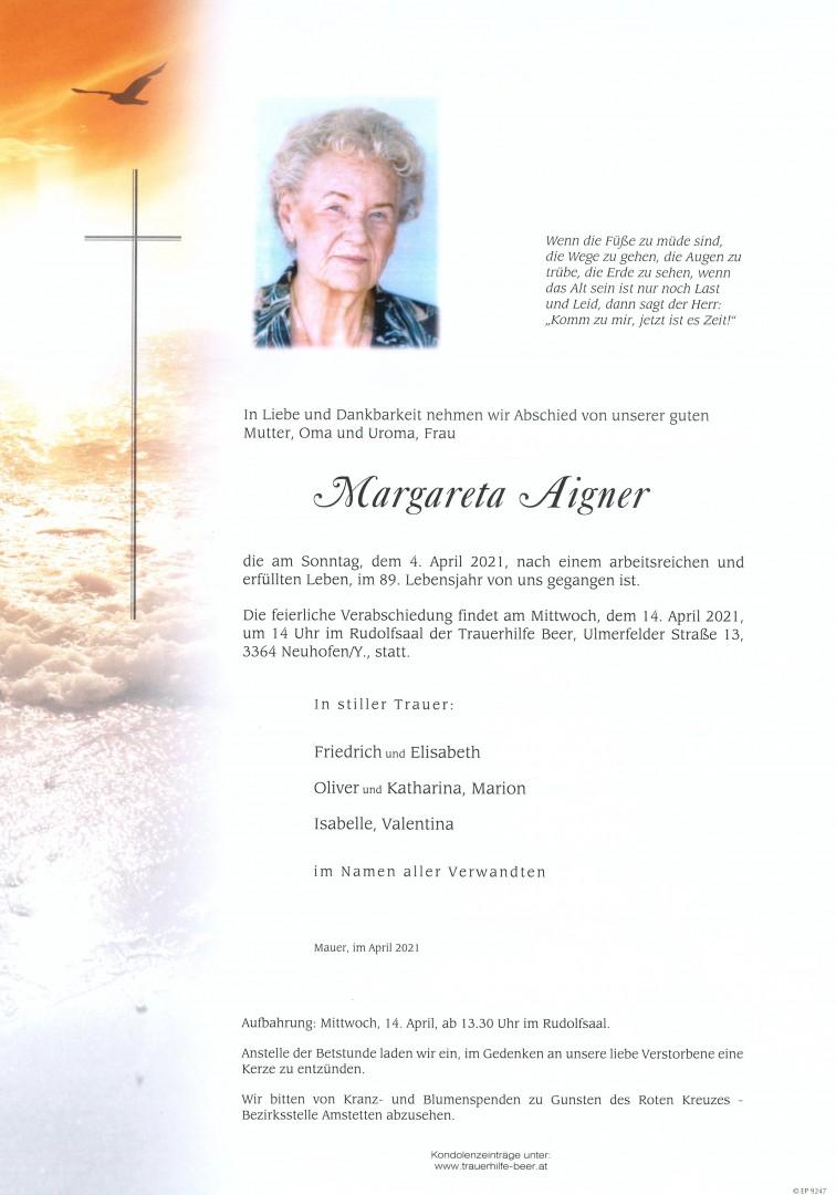 Parte Margareta Aigner