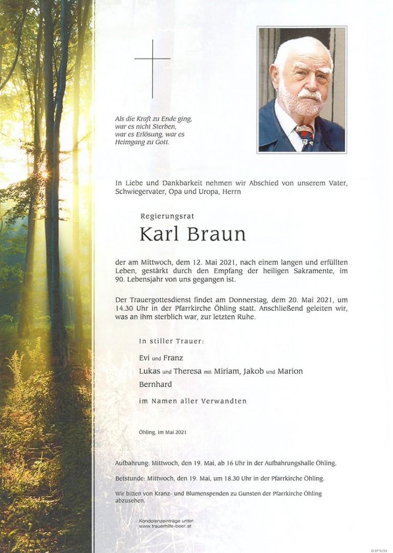 Parte Karl Braun