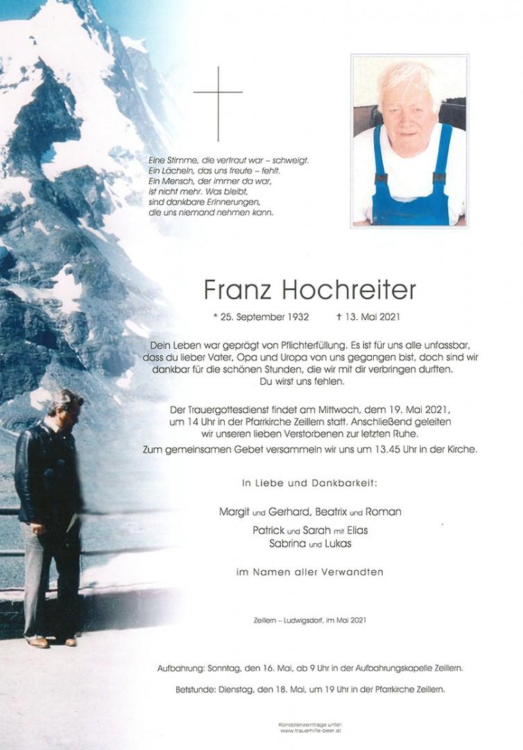 Parte Franz Hochreiter