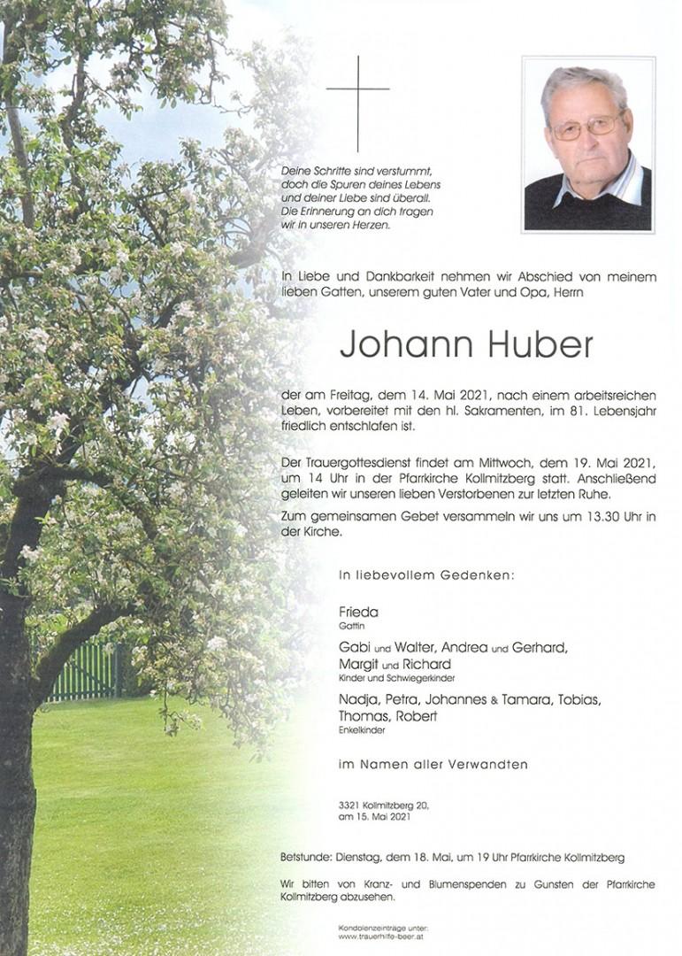 Parte Johann Huber