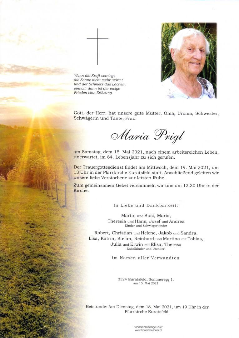 Parte Maria Prigl