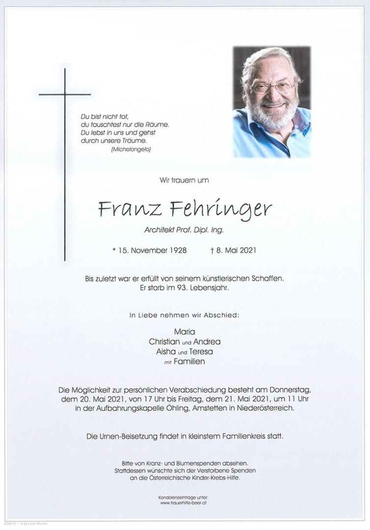 Parte Franz Fehringer