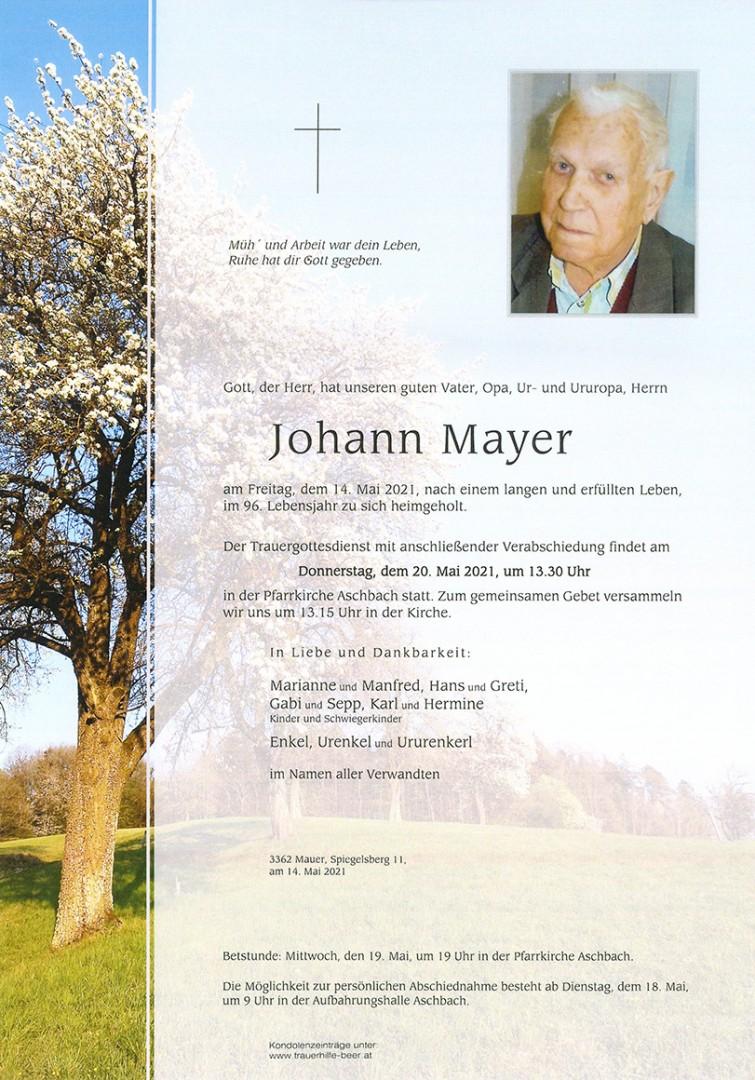 Parte Johann Mayer