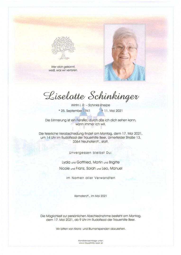 Parte Liselotte Schinkinger