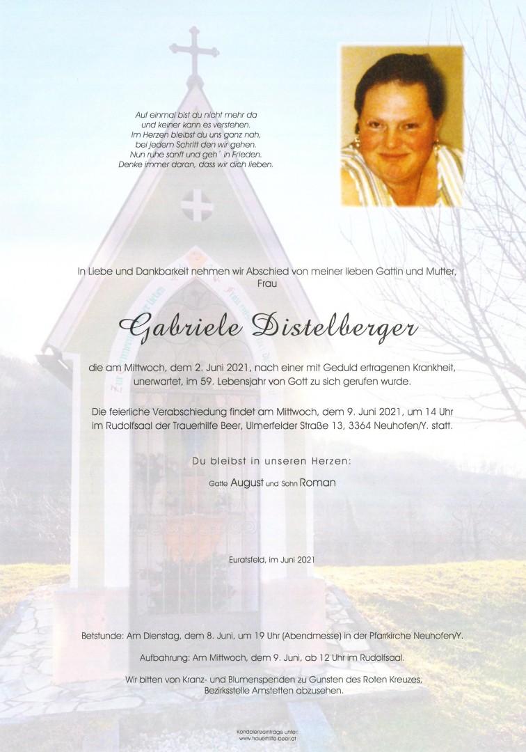 Parte Gabriele Distelberger