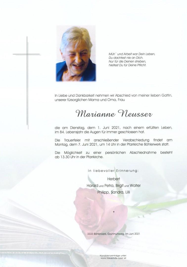 Parte Marianne Neusser