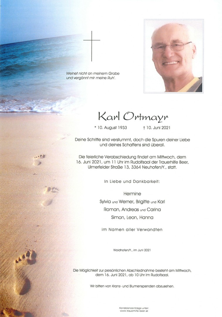 Parte Karl Ortmayr