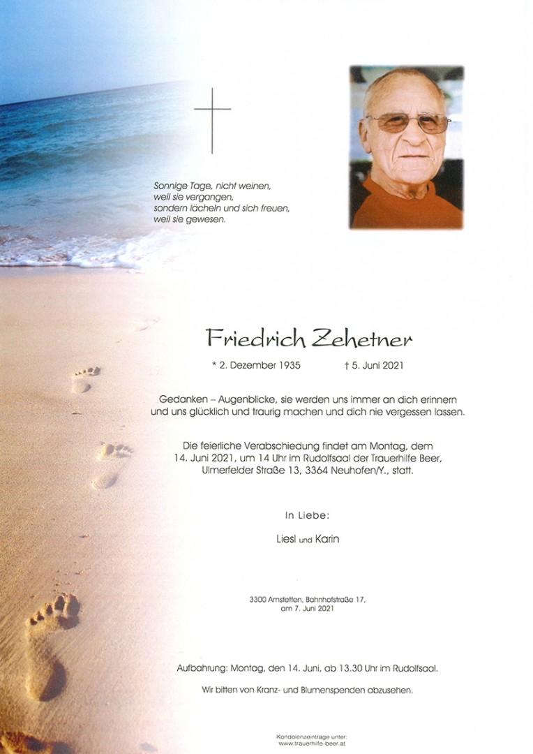 Parte Friedrich Zehetner