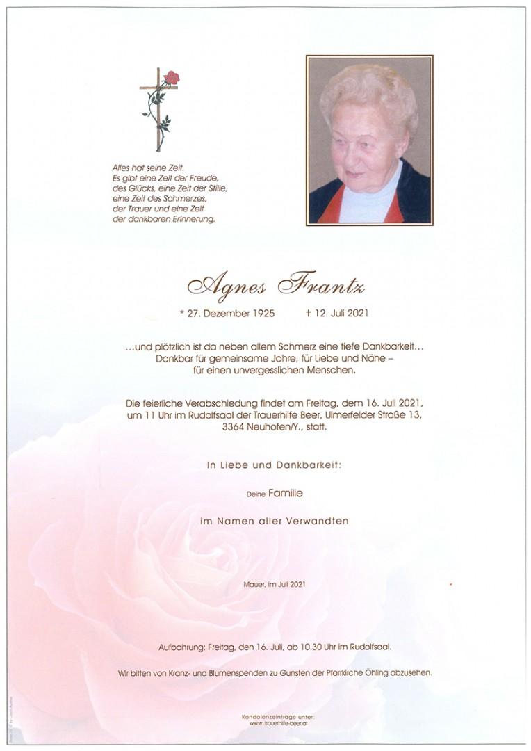 Parte Agnes Frantz