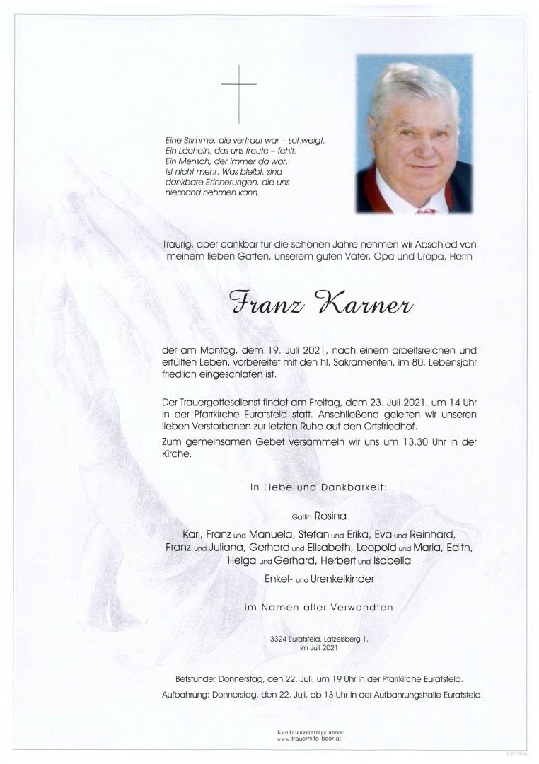 Parte Franz Karner