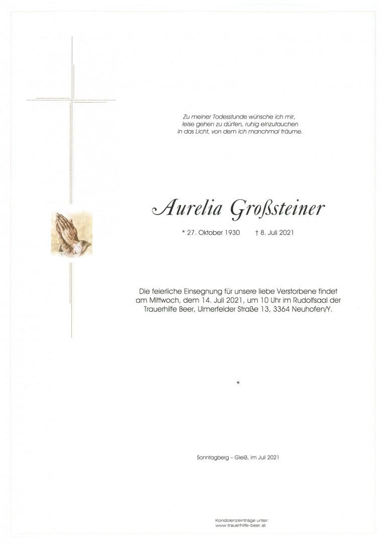 Parte Aurelia Großsteiner