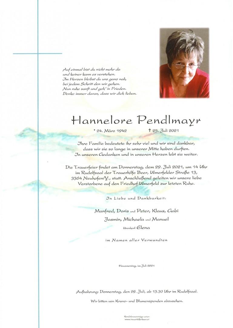Parte Hannelore Pendlmayr