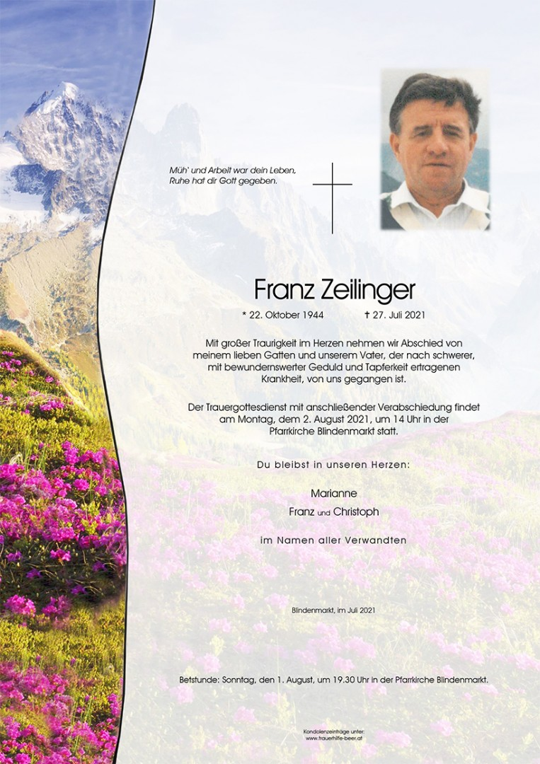 Parte Franz Zeilinger