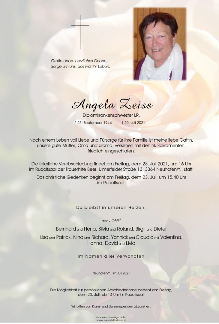 Parte Angela Zeiss